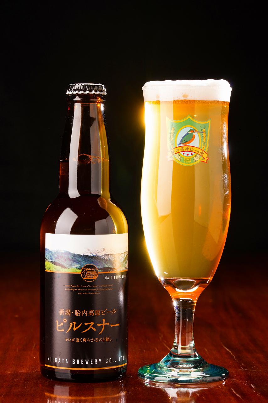 胎内高原ビール ピルスナー