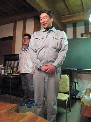吉田製造部長