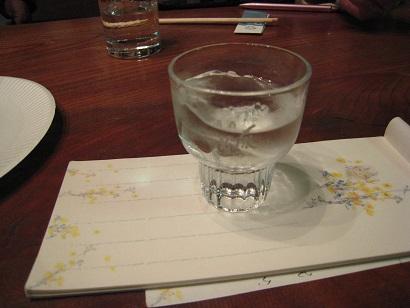 吟醸生酒ロック