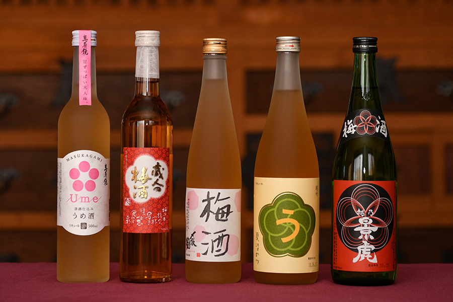 新潟の梅酒・リキュール
