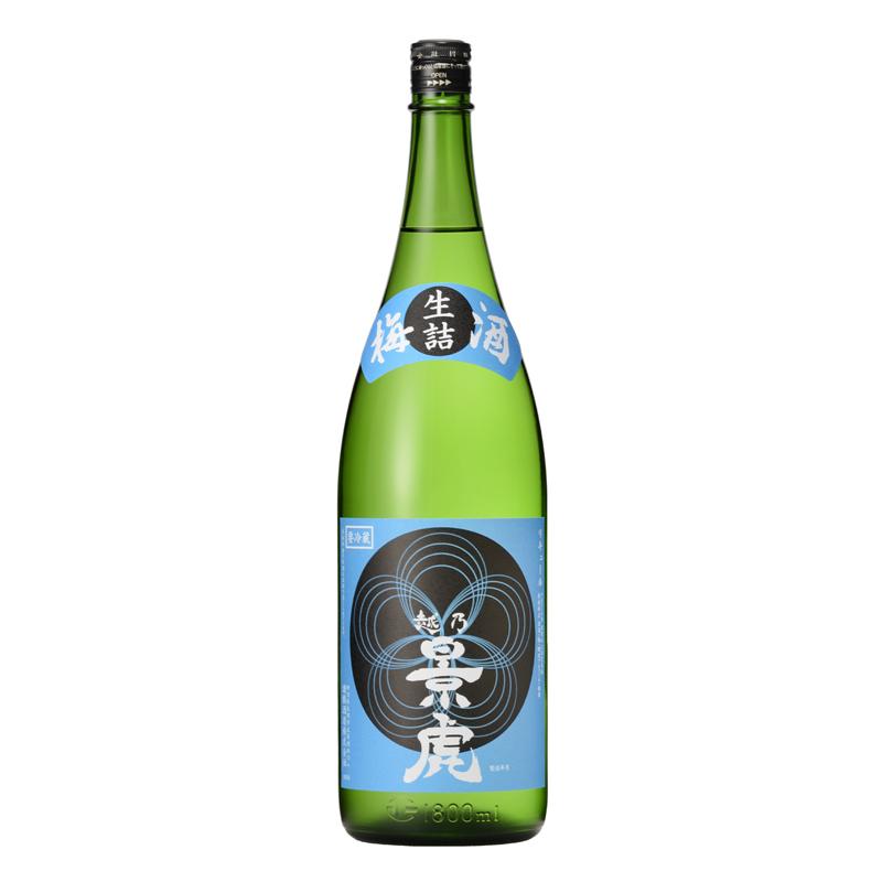 【2020年1月下旬発売】越乃景虎 梅酒 かすみ酒