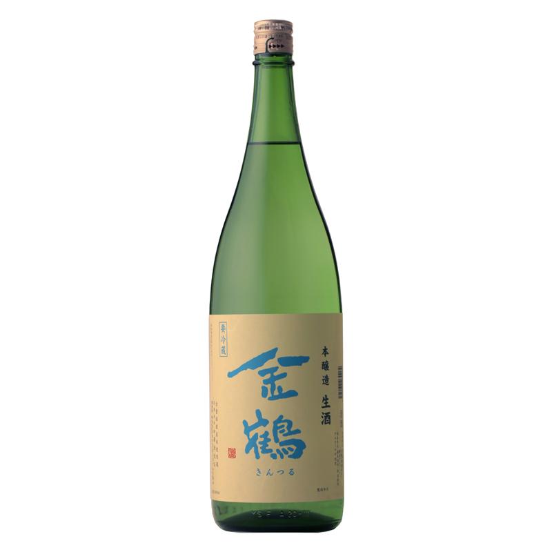 【2021年4月9日発売】金鶴 本醸造 生酒