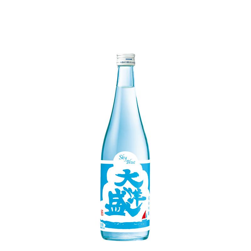 【2021年4月22日発売】大洋盛 純米吟醸 スカイブルーラベル